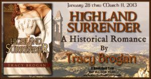 Highland Surrender Tour Banner